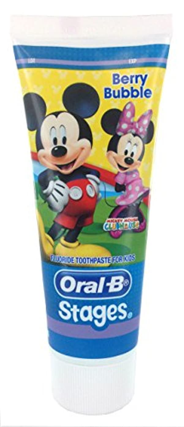 ハック凍結長老Oral-B ディズニーキャラクター 子供用歯磨き粉 6歳まで対象 92g