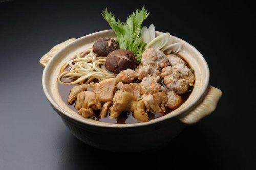 招福亭 名古屋コーチン 八丁味噌 鍋 セット (3−4名用)