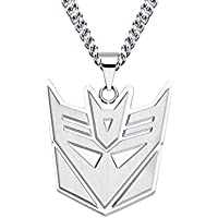 Transformers Decepticon Logo Pendant Necklace (製造元:Body Vibe) [並行輸入品]