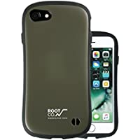 【ROOT CO.】iFace iPhone7 iPhone8ケース 耐衝撃 米軍MILスペック/Gravity Shock Resist Case.(カーキ)