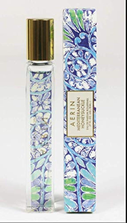 葉を集める約束するたらいAERIN Mediterranean Honeysuckle (アエリン メディタレーニアン ハニーサックル) 0.3 oz (9ml) EDP Rollerball ロールオン by Estee Lauder for...