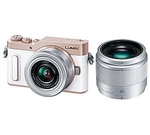 Panasonic ミラーレス一眼カメラ ルミックス GF10 ダブルレンズキット 標準ズームレンズ/単焦点レンズ付属 ホワイト DC-GF10W-W