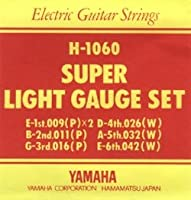 YAMAHA ヤマハ エレキギター弦 スーパーライトゲージ(09-42) H-1016