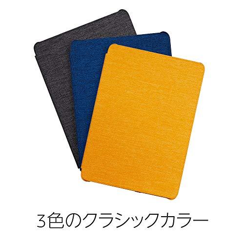 『Amazon Kindle Paperwhite (第10世代) 用 ファブリックカバー チャコールブラック』の5枚目の画像