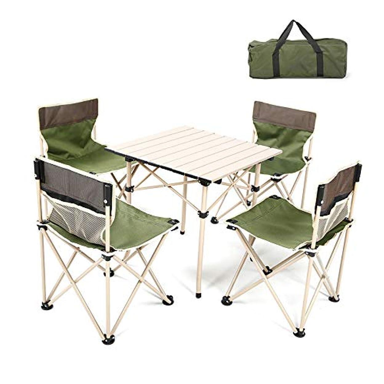 鮫ファランクス突き出す折りたたみ家具、バックパック椅子とテーブル、屋外キャンプ、旅行、ビーチ、ピクニック、祭り、ハイキング、軽量バックパックのためのポータブル軽量コンパクトな家具、