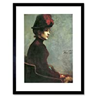 Painting Corinth Ladies Portrait Old Master Framed Wall Art Print
