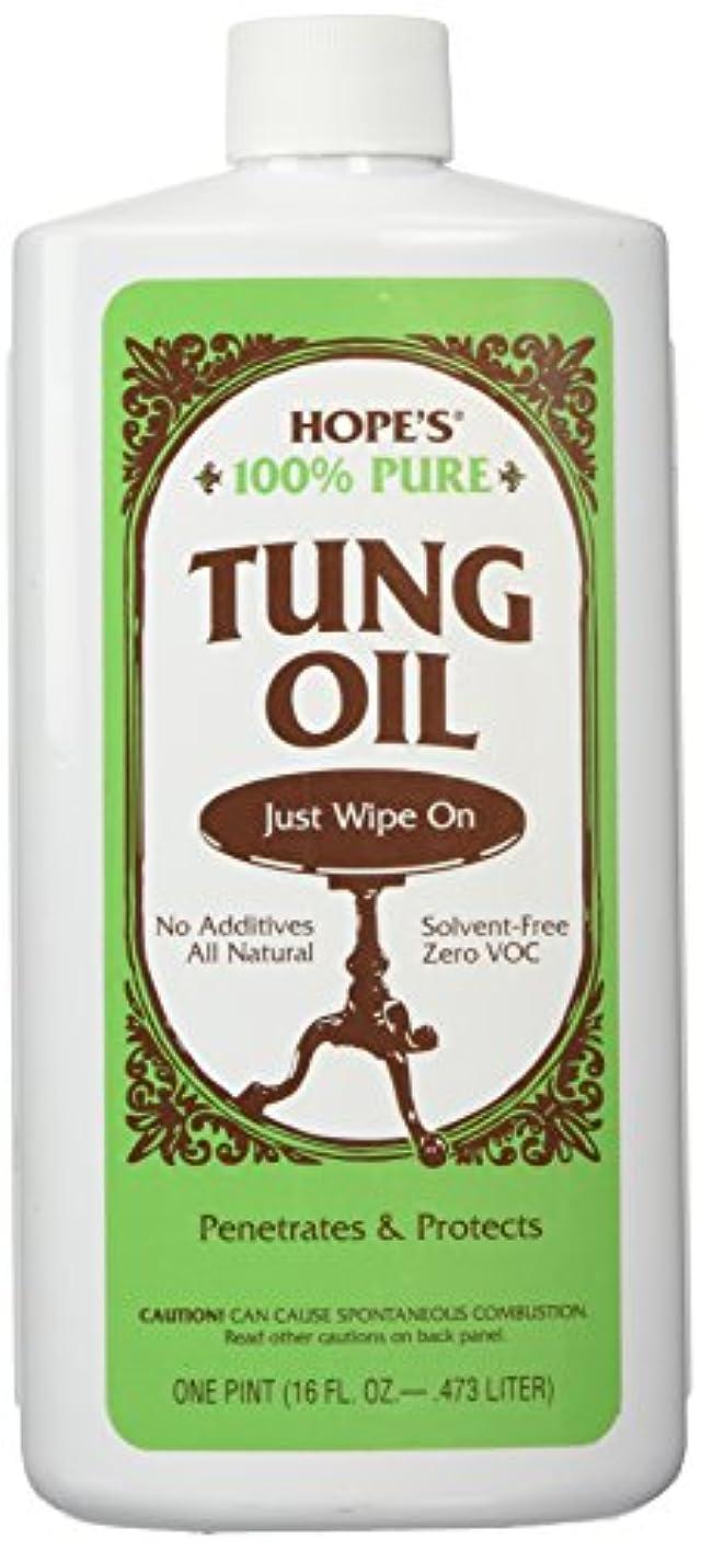 受け入れる平手打ち九時四十五分100% Tung Oil 16 oz - Pt. by Hope