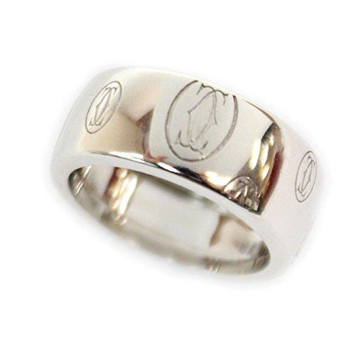 (カルティエ) Cartier ハッピーバースデーリング750WG ホワイトゴールド ♯51/約11号指輪