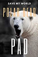 Polar Bear Pad: 150 pages, Half Wide Ruled / Half Blank, hardy durable Matte cover.