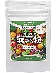 まるごと野菜酵素粒 226種類の野菜発酵(しょうが入り) 約4ヶ月分 (440mg×120粒)