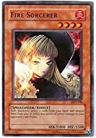Yu-Gi-Oh! - Fire Sorcerer (LON-036) - Labyrinth of Nightmare - Unlimited Edition - Common