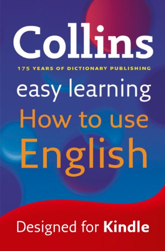 『Easy Learning How to Use English (Collins Easy Learning English) (English Edition)』のトップ画像