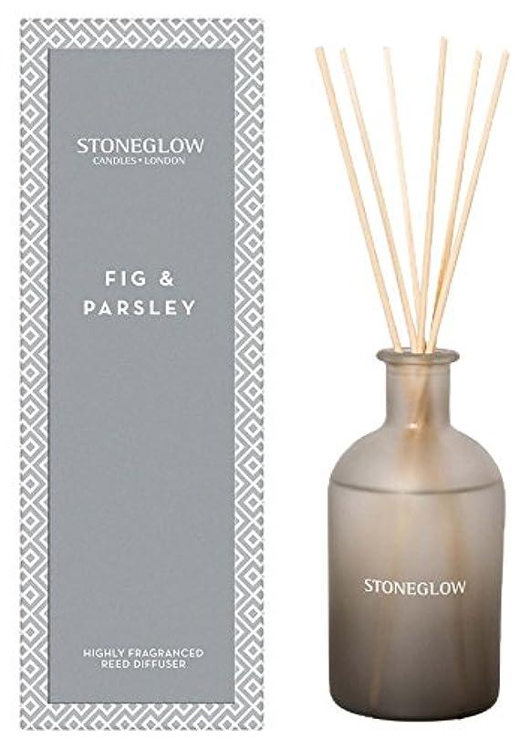 割る不承認麻酔薬STONEGLOW (ストーングロー) リードディフューザー200ml / フィグ&パースリー