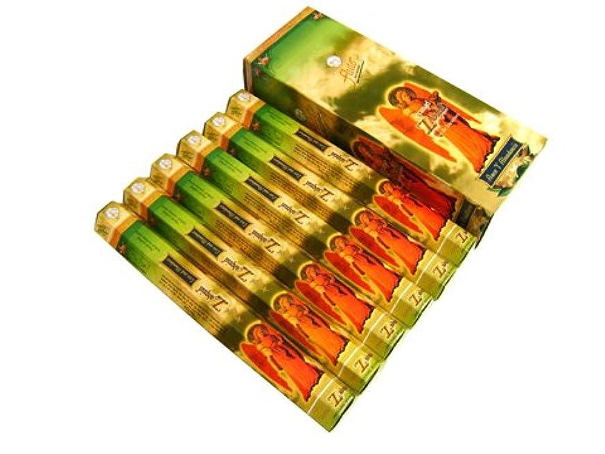 呼吸する取るパブFLUTE(フルート) ザドキエル香 スティック ZADQUIEL 6箱セット