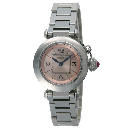 腕時計 ミス パシャ ピンク W3140008 レディース カルティエ