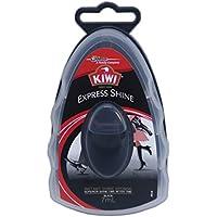 KIWI エクスプレス 革靴用つや出しワックス スポンジタイプ 黒用 7ml 【 さっと一拭き、手も汚れず簡単手軽に靴のメンテナンス】 [並行輸入品]