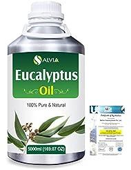 Eucalyptus (Eucalyptus Globulus) 100% Natural Pure Essential Oil 5000ml/169fl.oz.