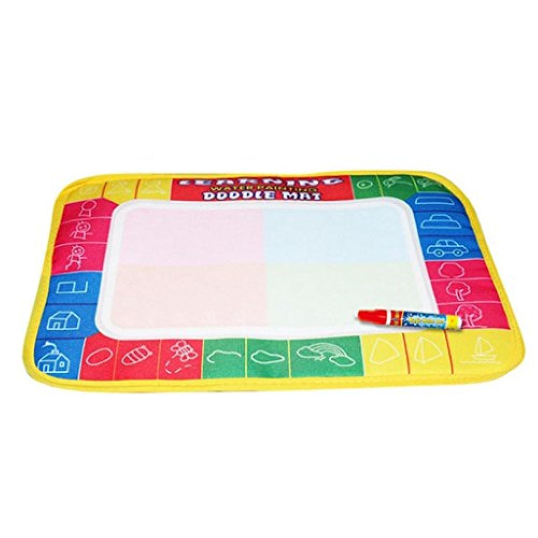 カラフルな子供水図面ペイントWritingマットボード、malltopマジックペンDoodleギフト11.4 X 7.5