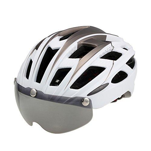[해외]TOPTOTN 자전거 헬멧 성인 초경량 일체형 EPS 고 강성 환기 크기 조절 렌즈 자전거 헬멧 5 색/TOPTOTN Bicycle Helmet Adult Super Lightweight Integrated EPS High Rigidity Bicycle Size Adjustable Bicycle Helmet with 5 Color