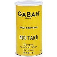 GABAN マスタードパウダー400g丸缶 ×3セット
