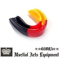 COBRA カラフルマウスピース(ケース付き) MOUTH GUARD BK/RD/YE