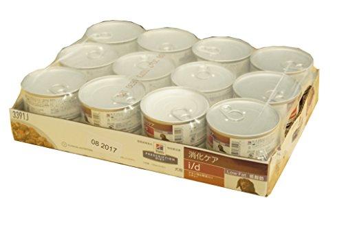 ヒルズ プリスクリプション ダイエット 犬用 i/d LowFat チキン&野菜入りシチュー缶詰 156g 24缶×4