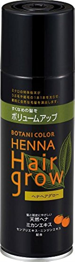 伝えるプット食べるヘナヘアグロー スプレー式染毛料 ブラウン 150g