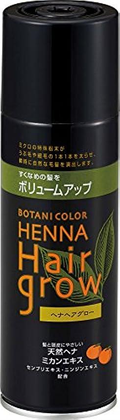 浴室領事館教室ヘナヘアグロー スプレー式染毛料 ブラウン 150g