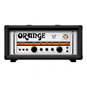 ORANGE 200W Bass Guitar Amplifier Head, Class A/B ベースアンプヘッド AD200B Black