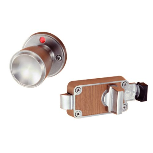 川口技研 室内用 ドアノブ ハイス 表示錠 WC トイレ用 ロック 外開き BS53mm