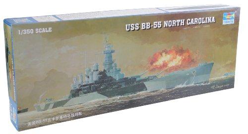 1/350 米海軍 戦艦 BB-55 ノースカロライナ