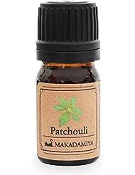 パチュリ5ml 天然100%植物性 エッセンシャルオイル(精油) アロマオイル アロママッサージ aroma Patchouli