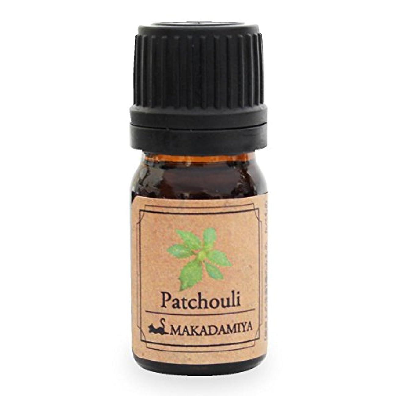 ビデオ音楽勇気パチュリ5ml 天然100%植物性 エッセンシャルオイル(精油) アロマオイル アロママッサージ aroma Patchouli