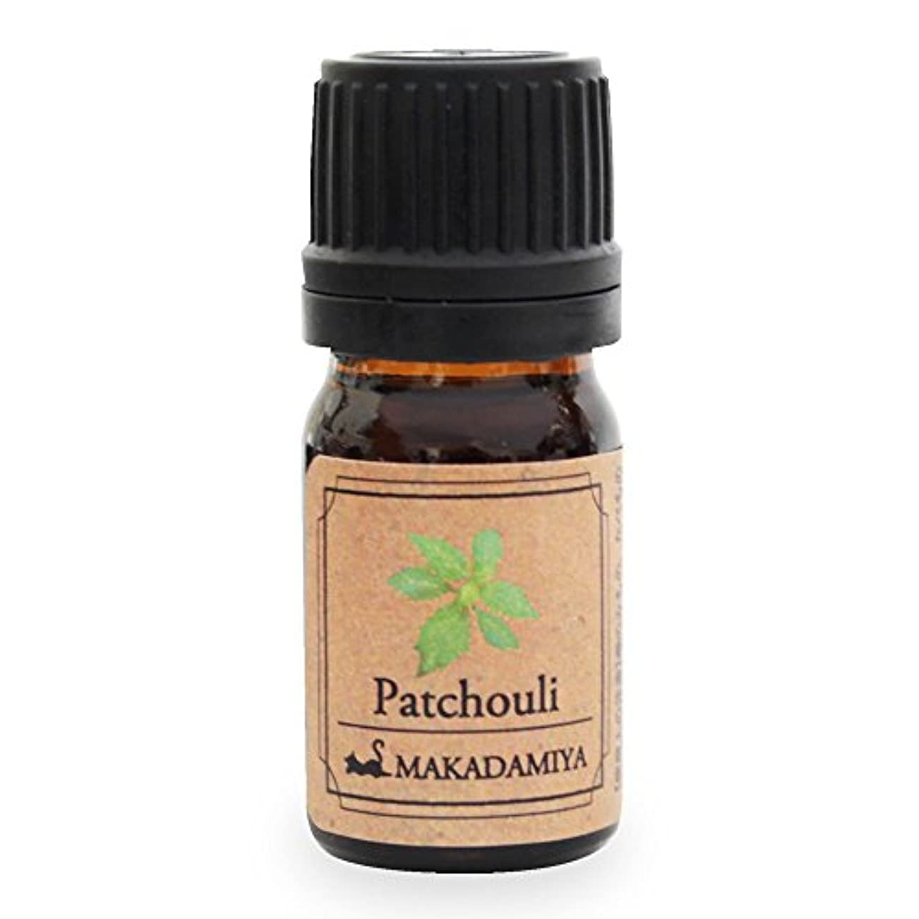 ホース軽蔑するグラムパチュリ5ml 天然100%植物性 エッセンシャルオイル(精油) アロマオイル アロママッサージ aroma Patchouli
