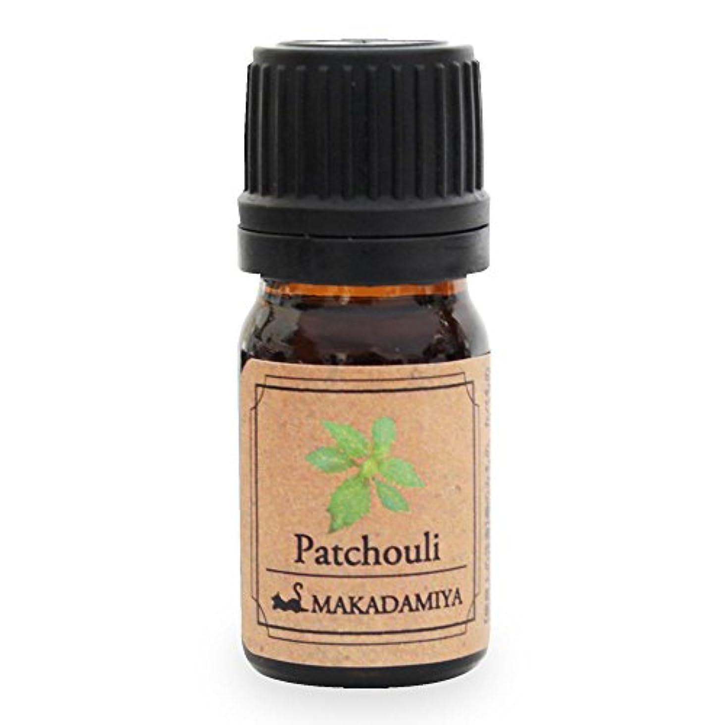 輸血出発砲兵パチュリ5ml 天然100%植物性 エッセンシャルオイル(精油) アロマオイル アロママッサージ aroma Patchouli