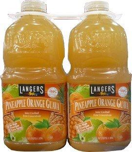 ランガーズ パイナップルオレンジグァバ 飲料 1.89L×2本