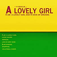 Professioal Studio背景yeiiow &グリーンテーマwith a Lovely Girl bckdrops Girls Children Kids indoorbooth Shoot小道具6x 6ft