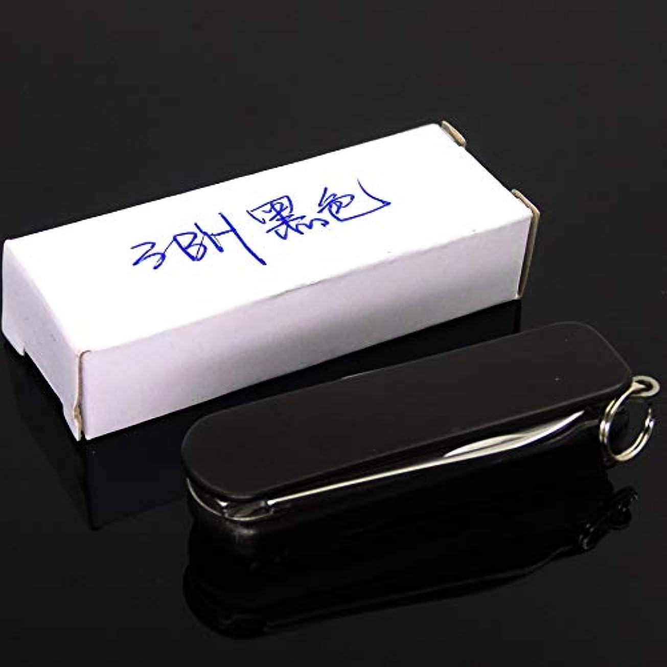明確な意味呼び出す爪切り多機能ギフト爪切り爪 3BHブラック