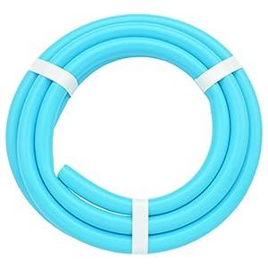 ガオナ これカモ 二槽式洗濯機用 給水ホース 3.0m (長さ調節可能 パステルブルー) GA-LC017