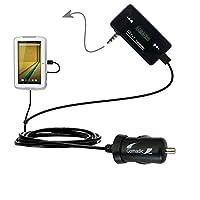第3世代強力なオーディオFM送信機with車充電器Suitable for the Polaroid q10–Uses Gomadicテクノロジー