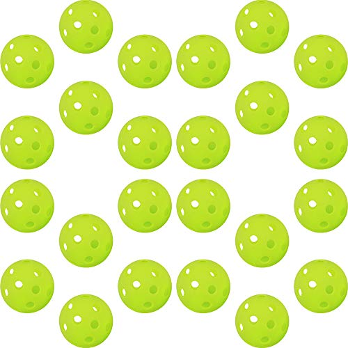 ジーピー GP ジーピー 野球 バッティング トレーニングボール 穴あき PE素材 蛍光緑 72mm 24個入り 35358