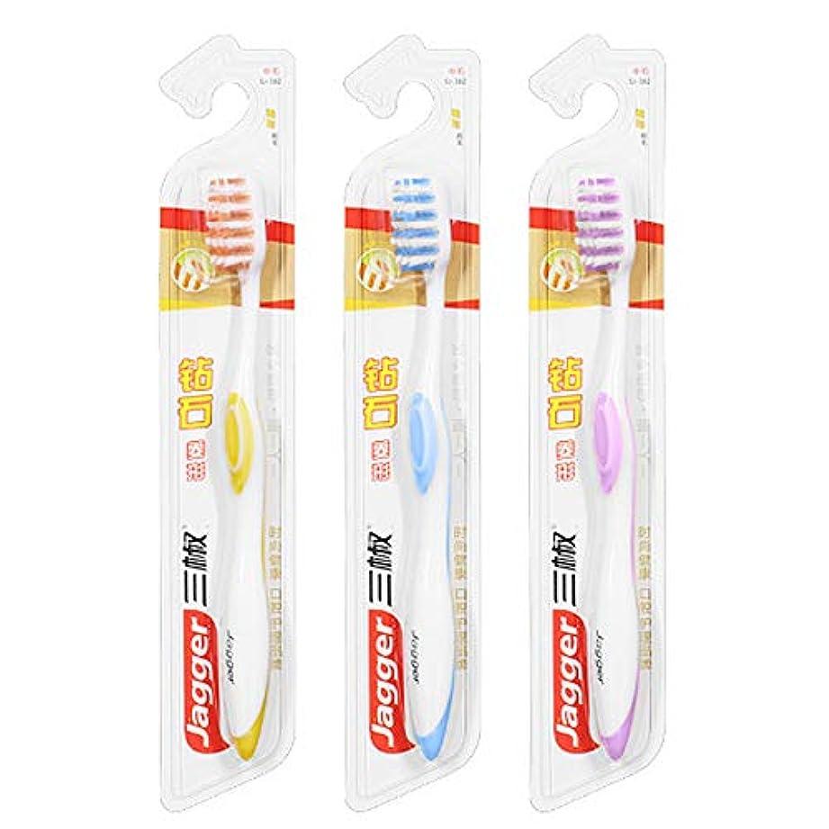 季節懲戒弾薬家庭用自給式掃除用歯ブラシ、2色デンタルケア製品、手動歯ブラシ