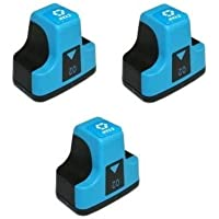 Elite Supplies互換インクジェットカートリッジ交換用 HP02 HP-02XL、HP C8721W、HP Photosmart (3シアン)