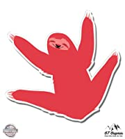 Sloth–ビニールステッカー防水デカール