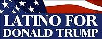 Latino for Donald Trumpバンパーステッカー(ラテンGOP vpte )
