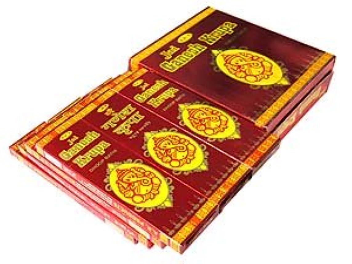甘味文明化ダニA.R.'s(エーアールエス) ガネーシャクルパ香 マサラスティック GANESH KRUPA 12箱セット