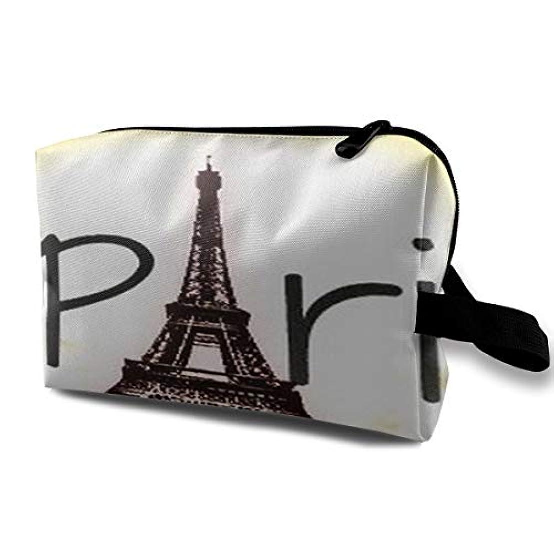 アナニバーホラーレンディションEiffel Tower Love Paris 収納ポーチ 化粧ポーチ 大容量 軽量 耐久性 ハンドル付持ち運び便利。入れ 自宅?出張?旅行?アウトドア撮影などに対応。メンズ レディース トラベルグッズ