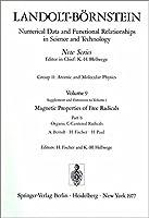 Organic C-Centered Radicals / Organische Radikale mit C als Zentralatom (Landolt-Boernstein: Numerical Data and Functional Relationships in Science and Technology - New Series)