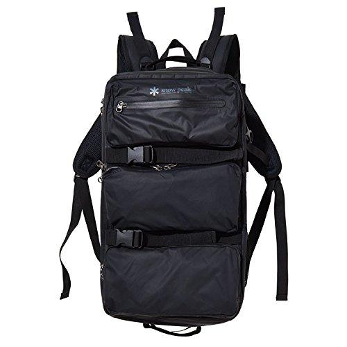 [スノーピーク] バックパック UG-674BK BK ブラック