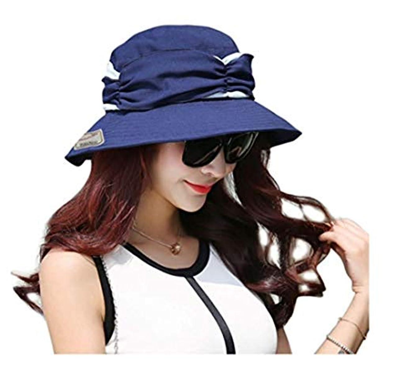ディーラーエスニック分注するレディース 帽子 360度 UVカット ハット メッシュ 日よけ帽子 夏 日焼け防止 サンバイザー 取り外すあご紐 つば広 紫外線対策 熱中症予防 おしゃれ 可愛い 小顔効果 旅行 自転車 農作業